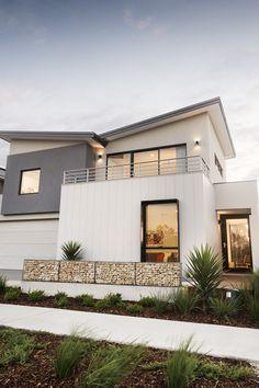 #coastalhome #elevation #exterior #homeexterior #skillionroof #cladding