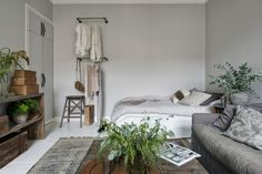 Studio apartment Follow Gravity Home: Blog - Instagram -... #room #decor