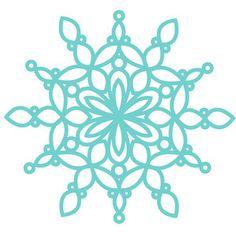 Silhouette Design Store - View Design #230984: snowflake