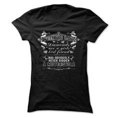 MOTORCYCLES NOT DIAMONDS! - cool t shirts #teeshirt #clothing