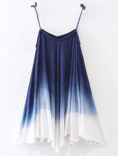 SHARE & Get it FREE   Ombre Trapeze Slip DressFor Fashion Lovers only:80,000+ Items • New Arrivals Daily Join Zaful: Get YOUR $50 NOW!