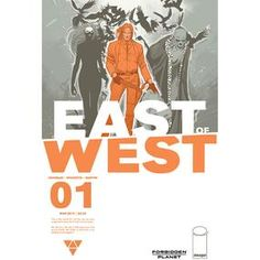 East Of West #1 (Forbidden Planet Variant)