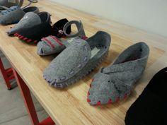 One piece shoe