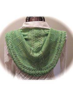 Knitting - Accessory Patterns - Ponchos, Shrugs, Shawls & Wraps - Liana