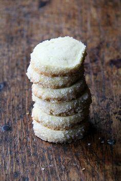 Dorie Greenspan's Vanilla Bean Sablés #cookiesandkindness