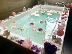 This is what dreams are made of . . @themagickalearth . . #crystals #bathbomb #wiccan #witchcraft #witchy #quartz #amethyst #citrine #rosequartz #mermaidvibes #unicorns #pastelpink #aesthetic #pastelgoth #gothic #goth #meditation #chakra #garden #nymph #faeries #summer #goodvibes #dreams #yogi #vegan #magic #tarot #opal #auraquartz