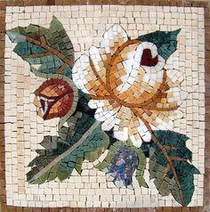 Mosaico floral