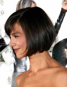 Katie Holmes — will there ever be a better bob? No, no there will not.
