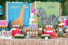 Safari dessert station by Sweets Indeed!