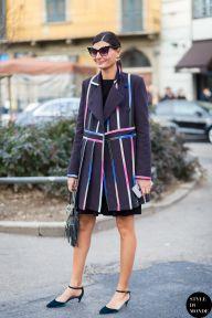 STYLE DU MONDE / Milan Fashion Week FW 2015 Street Style: Giovanna Battaglia  // #Fashion, #FashionBlog, #FashionBlogger, #Ootd, #OutfitOfTheDay, #StreetStyle, #Style