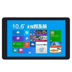 Chuwi Vi10 Dual OS 10.6 inch 2GB 32GB Intel Z3736F Win8.1 & Android 4.4 Tablet PC HDMI OTG Black