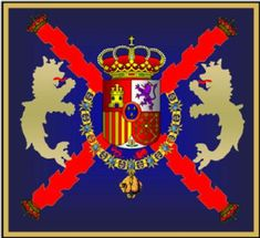 On this picture you see the logo of the Guardia Real, this is a group of soldiers that keep the royal family safe. Ambra is a part of the royal family because she is engaged to the crown prince. Military Insignia, The Crown, Airsoft, Air Force, Weapons, Spanish, Survival, Flag, Group