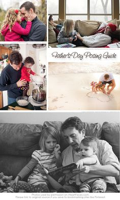 Great #photography ideas & tips for Dads and Children!  via iHeartFaces.com