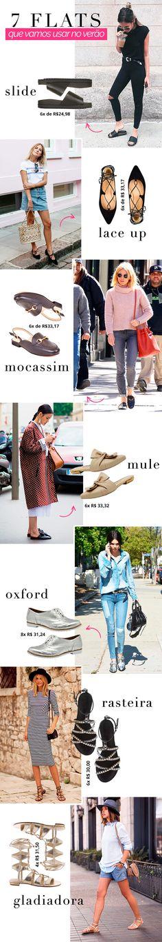 7 flats que toda fashionista vai usar no verao
