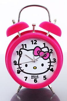 Hello Kitty alarm clock never got to give you yours