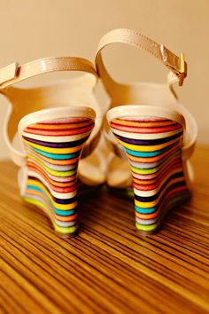 Colorful weddings call for colorful shoes!!