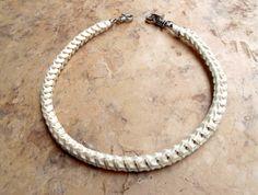snake bone wallet chain