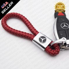 Highlights Product Status: Brand New Logo will never fade Crafted in sleek calf leather bi-fold keychain Die-Cast mirror chrome finish will not rust What's in the Box Red Leather Mercedes-Benz Logo key chain key is not included Mercedes Accessories, Bens Car, Calf Leather, Red Leather, Mercedes Benz Logo, 3d Logo, Key Chain, Calves, Personalized Items