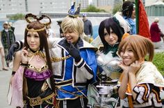 Awesome Dynasty Warriors! I love Dynasty Warriors and not very many people do their costumes! <3