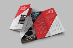 Beautiful Tri-Fold Brochures by creativebythesea on Creative Market