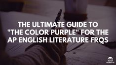 """The Ultimate Guide to """"The Color Purple"""" for the AP English Literature Free Response Questions https://www.albert.io/blog/ultimate-guide-to-the-color-purple-for-the-ap-english-literature-free-response-questions/"""