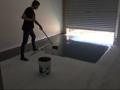 Another residential garage completed in our state of the art premium Duropoxy SLR-100 self leveling epoxy floor. Client selected a custom Color dark charcoal. The finish floor looked absolutely amazing.