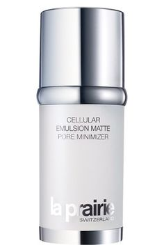 La Prairie 'Cellular Emulsion' Matte Pore Minimizer Moisturizer available at #Nordstrom This is definitely the ultimate beauty splurge but sooooo worth it. In minutes my redness on my face was gone and it looked matte and healthy. I haven't even been using foundation or bb cream and my face is still even toned. This is truly a miracle cream.