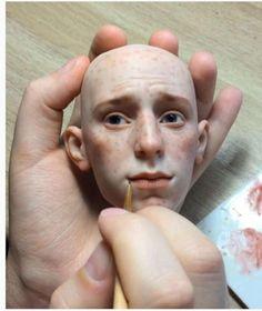 Nur ein Puppenkopf – aber trotzdem zum Fürchten