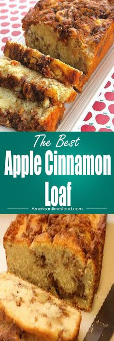 Apple Cinnamon Loaf – Delicious recipes to cook with family and friends.