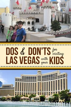 "Las Vegas is full of great activities for families, and it's just a short drive from many national parks and conservation areas (like the Grand Canyon!), so don't let ""Sin City's"" reputation stop you from visiting with your family! Get our tips for visiting #LasVegas with your kids on the Canyon Tours blog."