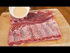 Coaste de porc perfecte la cuptor, rețetă ușoară # 52 - YouTube Roasted Pork Shoulder Recipes, Pork Shoulder Roast, Bbq Ribs, Pork Ribs, Rib Recipes, Cooking Recipes, Recipe Boards, Food 52, Four