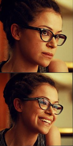 Cosima glasses - worn in Orphan Black Style Sylvie from SALT in Black Orchid
