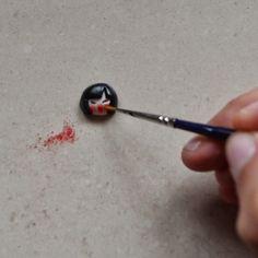 Faire des figures avec des anneaux en pâte polymère et canspolymer-clay34