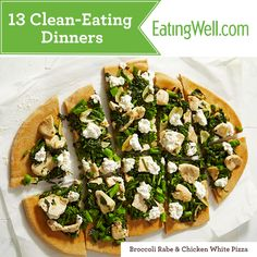Eat cleaner with these quick and easy, low-calorie, clean-eating recipes for weeknight meals.