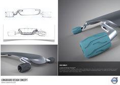 Longboard Concept design by Diego S. Lopez, via Behance