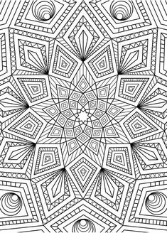 Adult coloring (doodles) on behance mandala doodle coloring, Coloring Pages For Grown Ups, Printable Adult Coloring Pages, Cute Coloring Pages, Doodle Coloring, Flower Coloring Pages, Mandala Coloring Pages, Coloring Books, Coloring Sheets, Geometric Coloring Pages