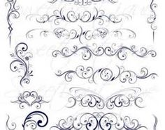 Cadel Flourished Initial LetterS - - Yahoo Image Search Results