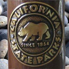 California State Parks Walking Staff Medallion