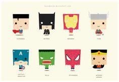 SUPERHERO (ALL) by ~kusodesign