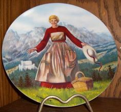 Collectible Plate The Sound of Music first Collectible Plate 1986