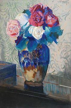 Leon Jan Wyczolkowski - Roses