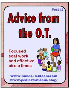 Advice from the OT: Why Good Sitting = Good Learning -  Pinned by @PediaStaff – Please Visit http://ht.ly/63sNt for all our pediatric therapy pins