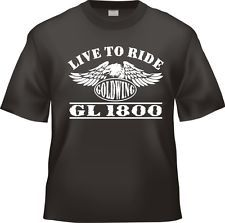 Working on My Goldwing  T-Shirt Ideal Birthday gift for Him Birthday Present