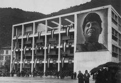 Verstörende Allianz von moderner Repräsentationsarchitektur und faschistischem Denken :: Terragni :: Casa del Fascio, Como