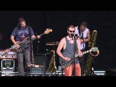 """Bon Iver - """"Blood Bank"""" - Bonnaroo 2012 (Official Video)    To skipt he saxophone part, go to 2:09"""