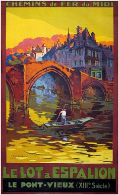 more French travel posters
