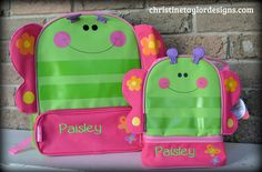 Stephen Joseph Backpack/Lunch Combo Set - Butterfly – Christine Taylor Designs