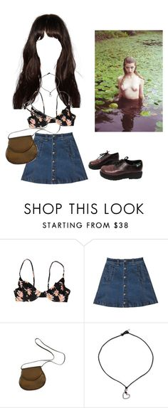 """""""Untitled #96"""" by milkyway999 ❤ liked on Polyvore featuring Acacia Swimwear, Bebe, Charles Jourdan, NOVICA and Eastland"""