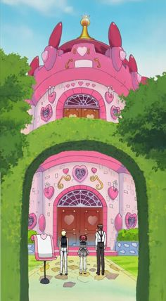 Café MewMew. A cute-looking café that actually acts as a HQ for the heroines.