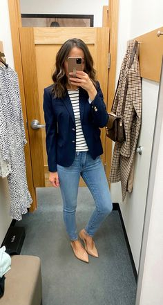 Fitting Room Snapshots (J.Crew Factory) ~ Lilly Style - business professional outfits for interview Classic Outfits For Women, Casual Work Outfits, Professional Outfits, Work Attire, Work Casual, Casual Looks, Cowgirl Style Outfits, Formal Outfits, Smart Casual